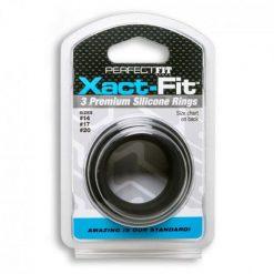 3 anillos silicona Perfectfit caja