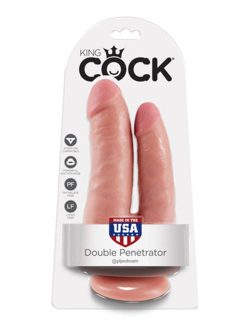Consolador King Cock Penetracion Doble