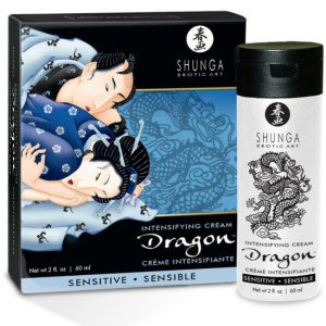 Crema dragon sensitive para parejas