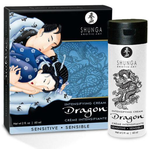 Crema dragon sensitive para parejas