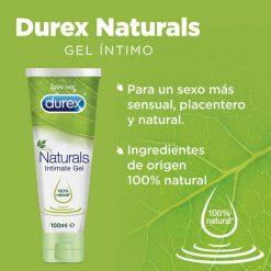 Lubricante Durex Naturals Intimate