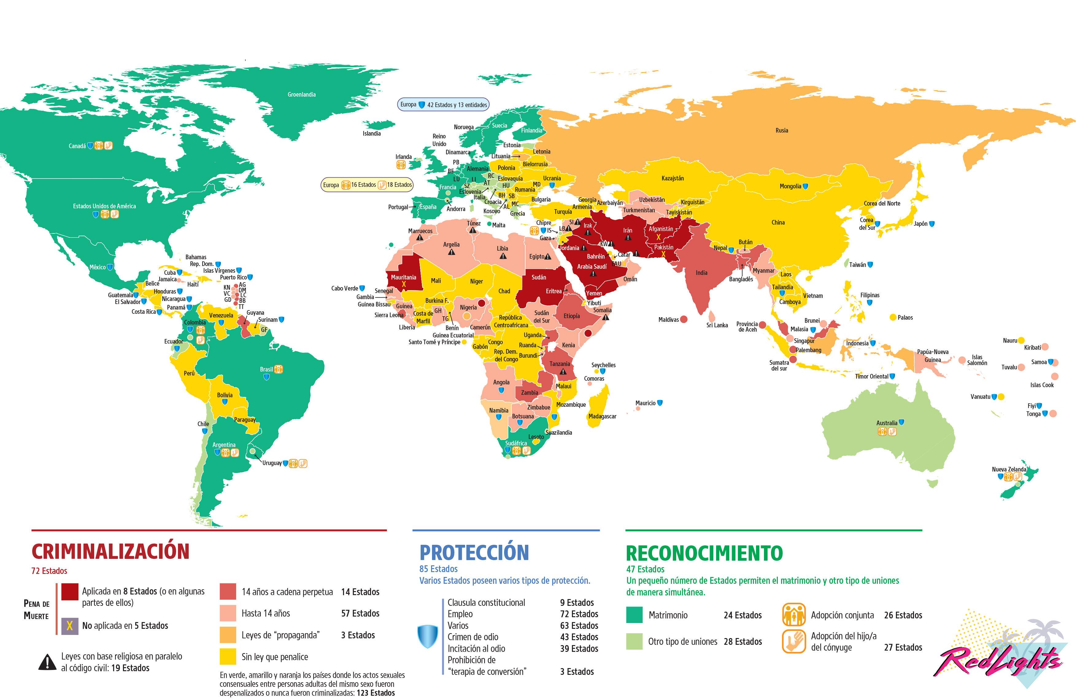 mapa leyes LGBTI redlights